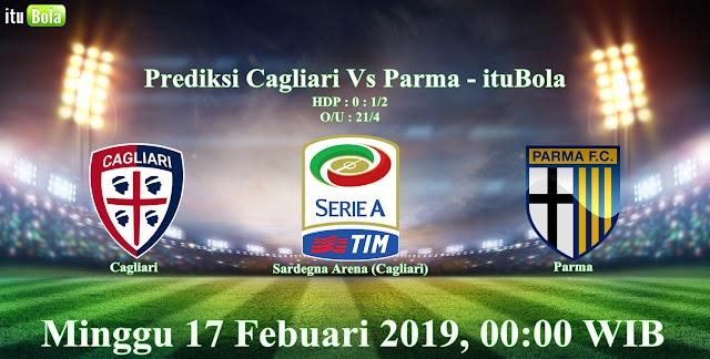 Prediksi Cagliari Vs Parma - ituBola