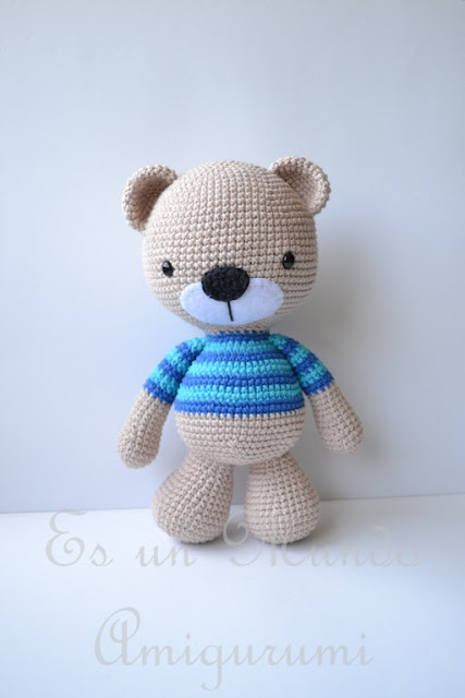 Free Amigurumi Patterns Horse : Amigurumi Bear -Free Pattern - Amigurumi Free Patterns