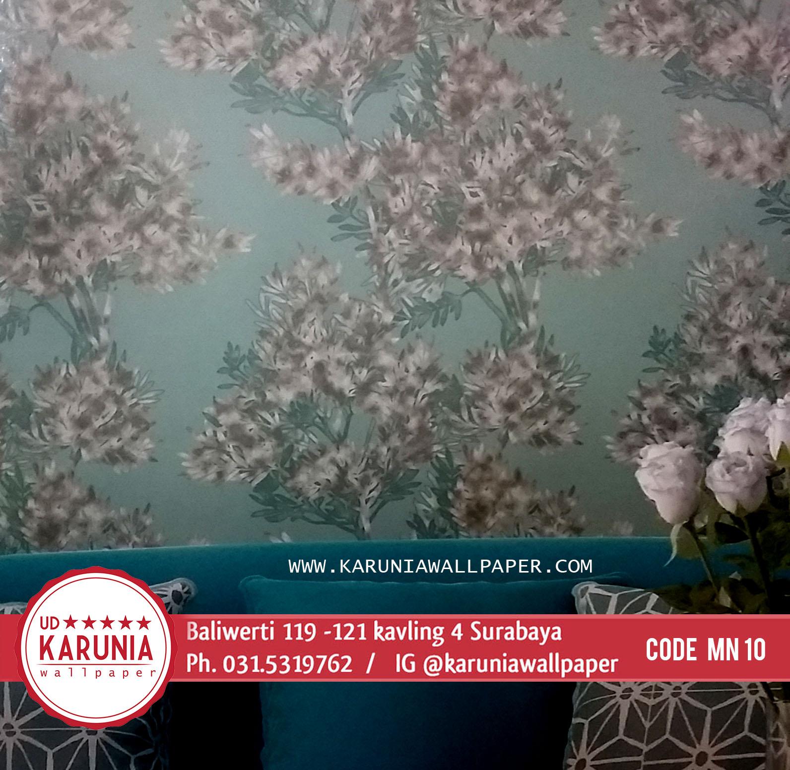 jual wallpaper hijau surabaya