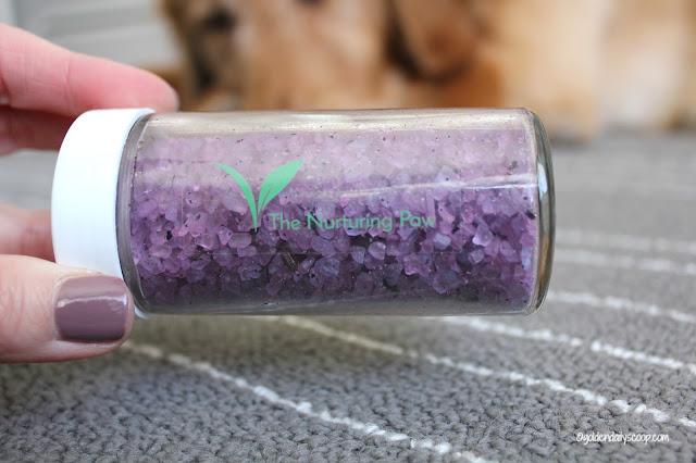 the nurturing paw lavender bath salts aromatherapy
