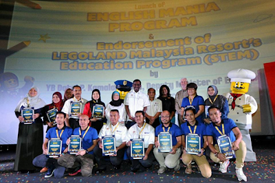 Program English Mania di Legoland Malaysia