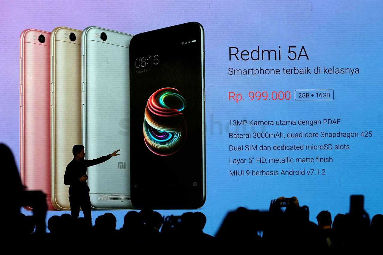 xiaomi redmi 5a smartphone dengan spesifikasi gahar dan