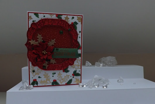 Merry Christmas Tonic October Craft Kit :D