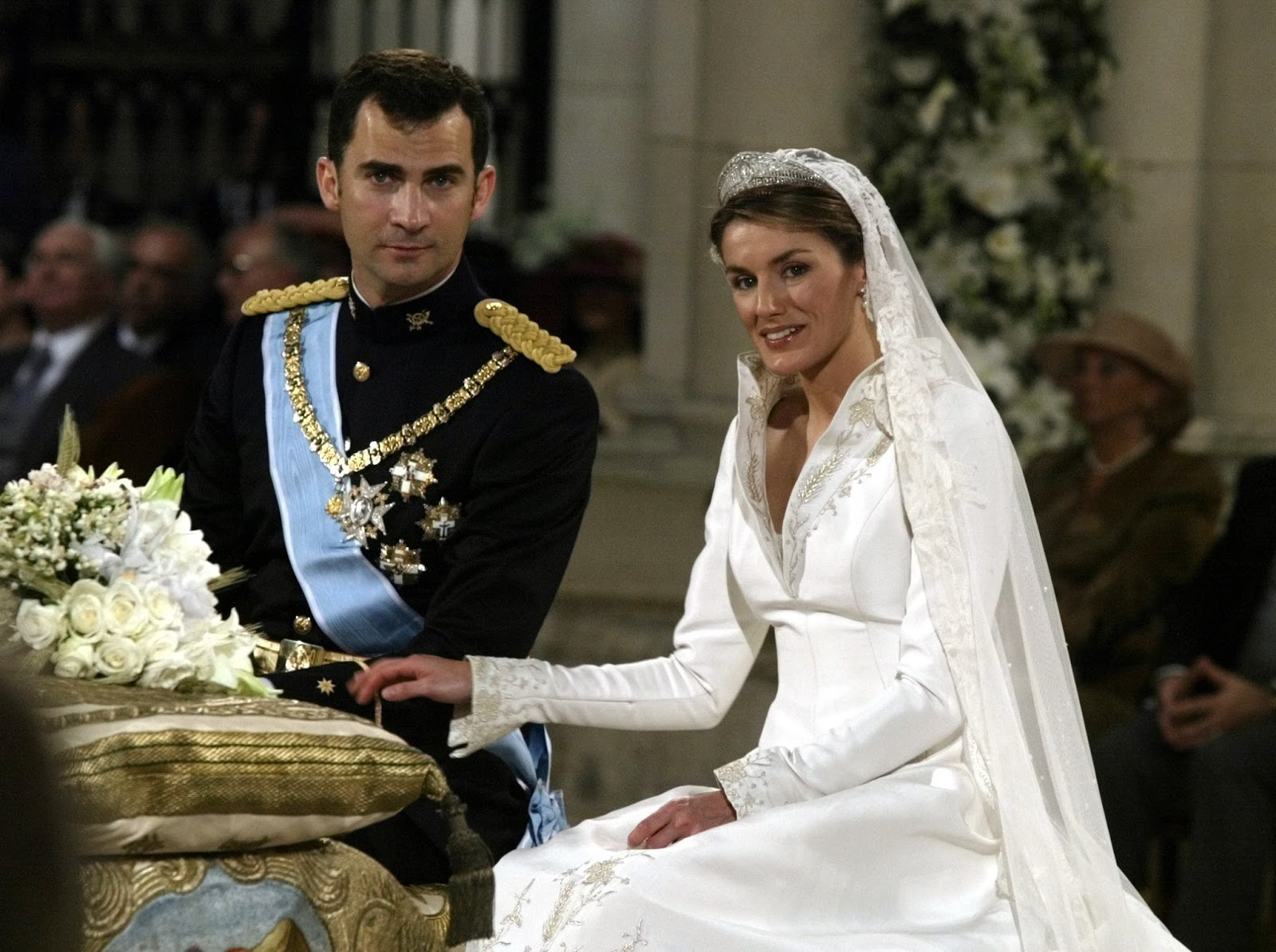 Real Royal Weddings: Queens Of England: Royal Wedding Tiaras: Queen Letizia Of