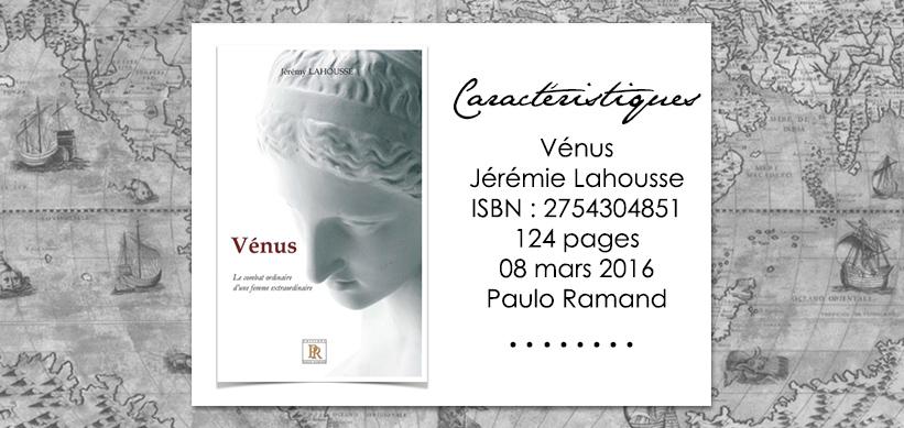 Venus de Jérémie Lahousse