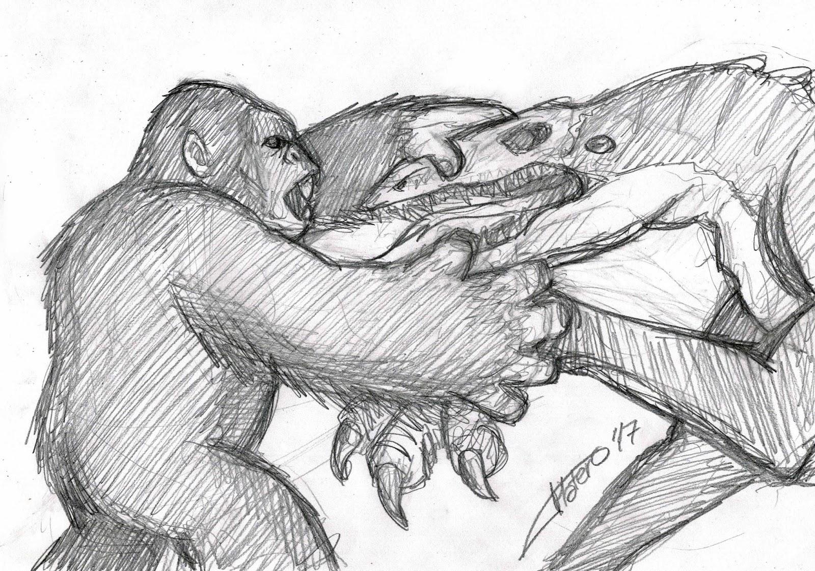 Platero Caricaturas Cómics E Ilustraciones Kong La Isla Calavera
