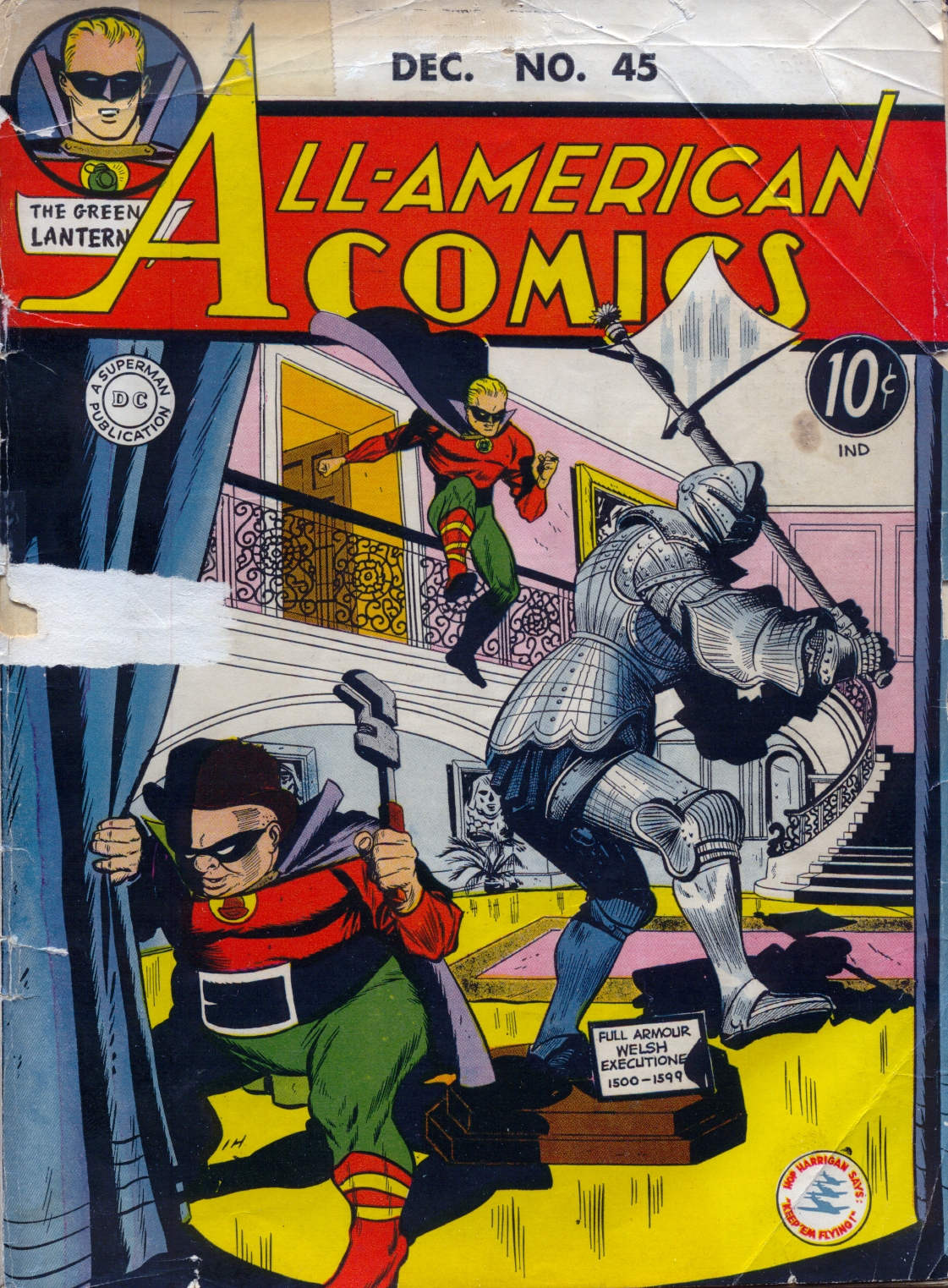 Read online All-American Comics (1939) comic -  Issue #45 - 1