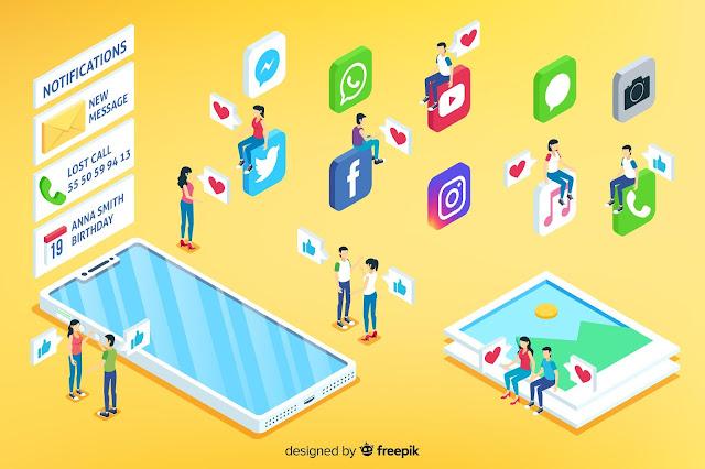 membangun blog dengan sosial media