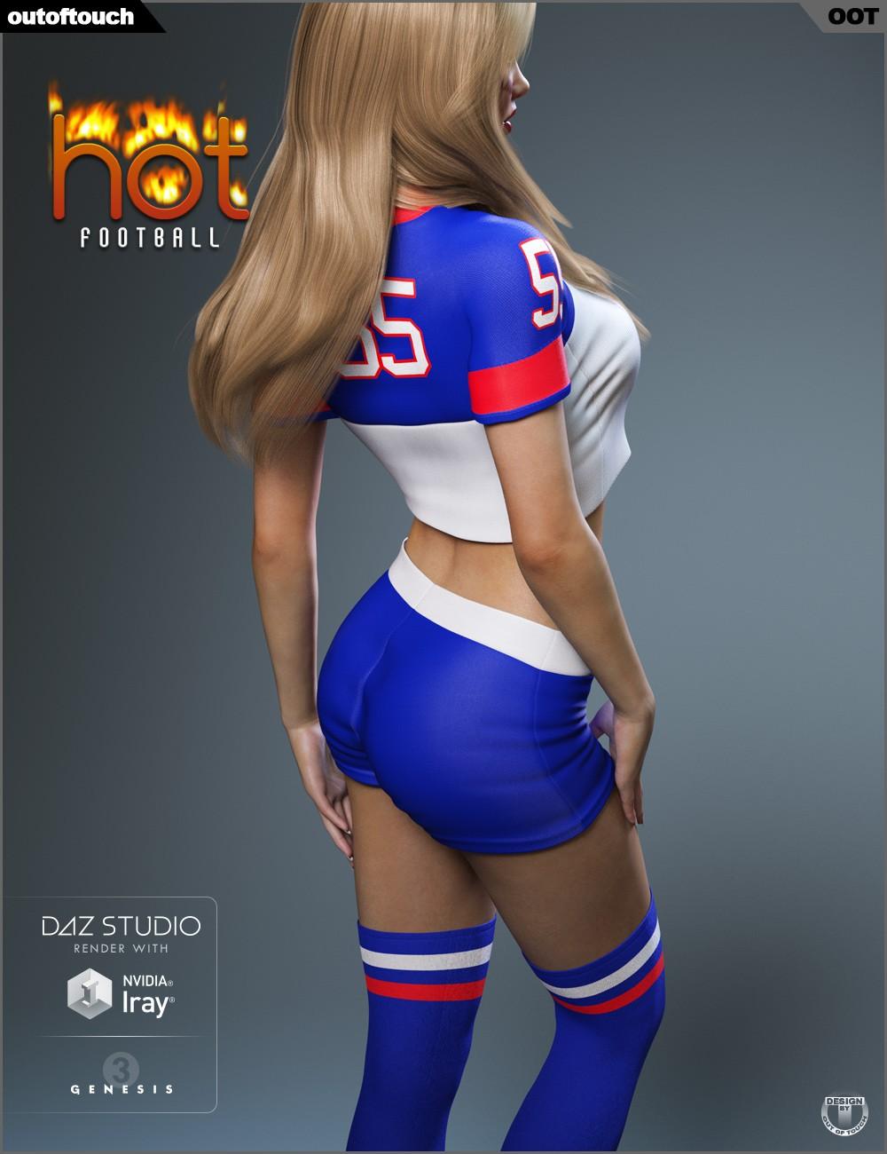 Download Daz Studio 3 For Free Daz 3D - Hot Football -4167