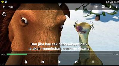 menggabungkan subtitle dengan film