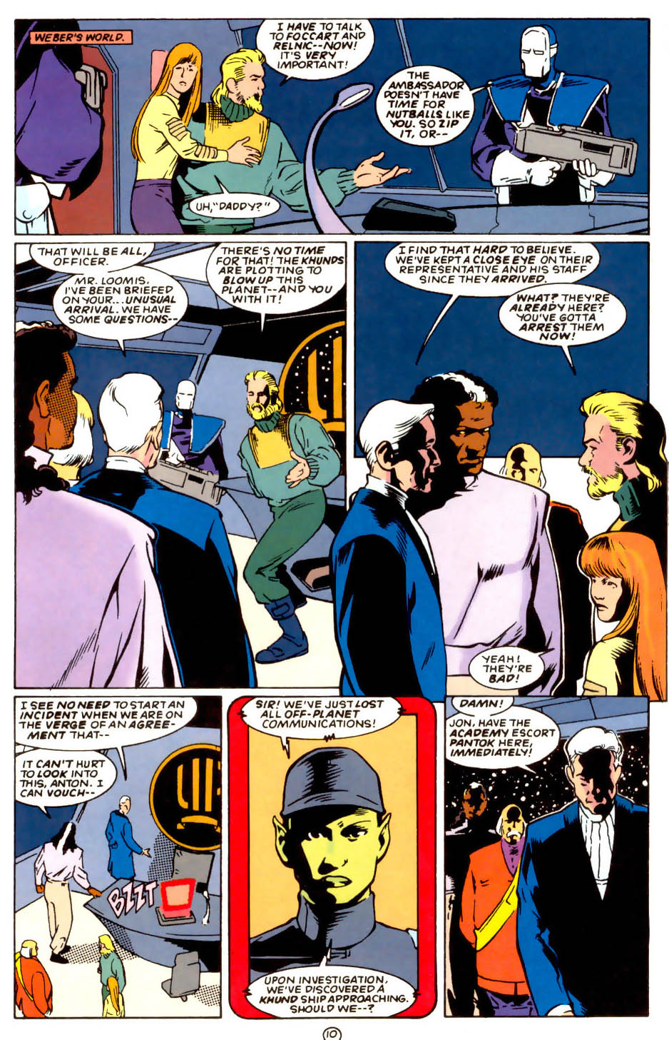 Legion of Super-Heroes (1989) 58 Page 10