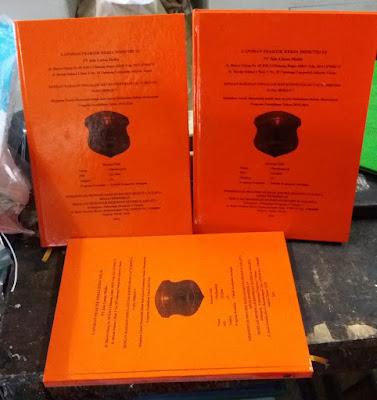 Jilid Hard Cover/Skripsi Express Berkualitas 1 Jam Jadi