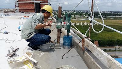 Khoan cắt bê tông tại thị xã Đồng Xoài