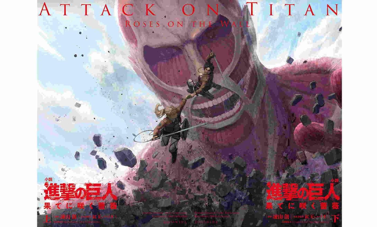Attack On Titan Roses On The Wall Rilis Hari Ini