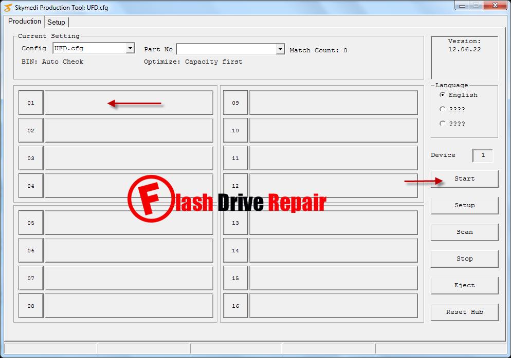 Skymedi SK6226 PDT format tool