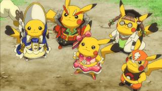 Pikachu filmando especial