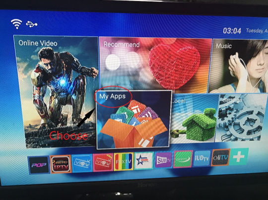 install apk file on android tv