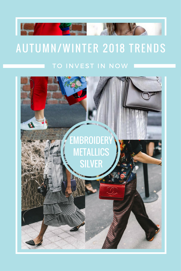autumn winter 2018 fashion runway trends to wear now