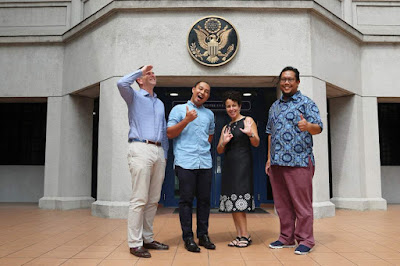 Jemputan ekslusif ke Kedutaan Amerika Syarikat