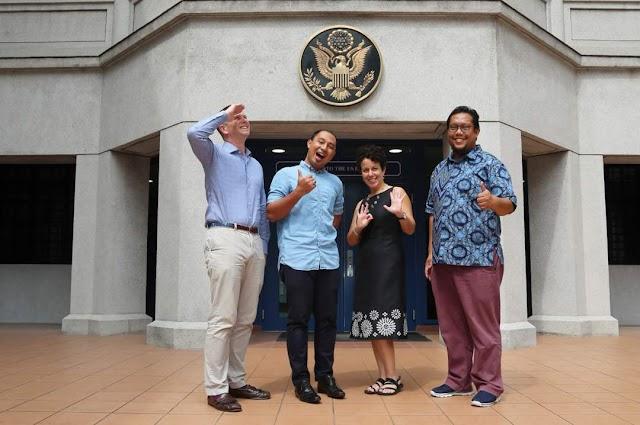 Pertemuan Istimewa ke Kedutaan Amerika Syarikat