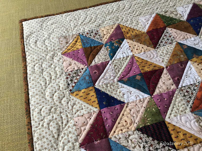 Half Square Triangle quilt layout