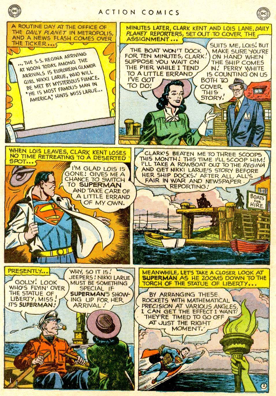 Action Comics (1938) 143 Page 2