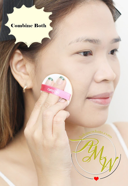 a photo on how to use Cathy Doll AA Automatic Aura Cushion and Cream
