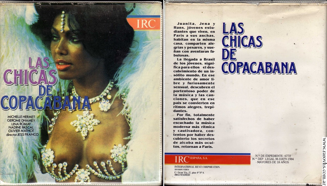 Las chicas de Copacabana (1981) Jesus Franco
