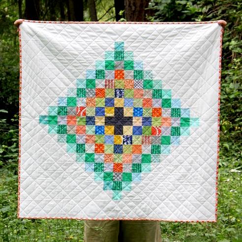 Chippewa Scrap Quilt Free Pattern