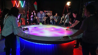 Sony Augmented Reality Air Hockey Game