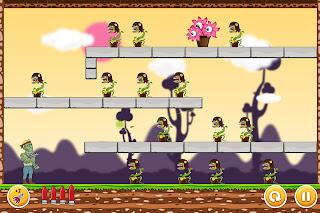Undead vs Plants - Cool Ricochet Gunner Shooting Game [iPhone & iPad]