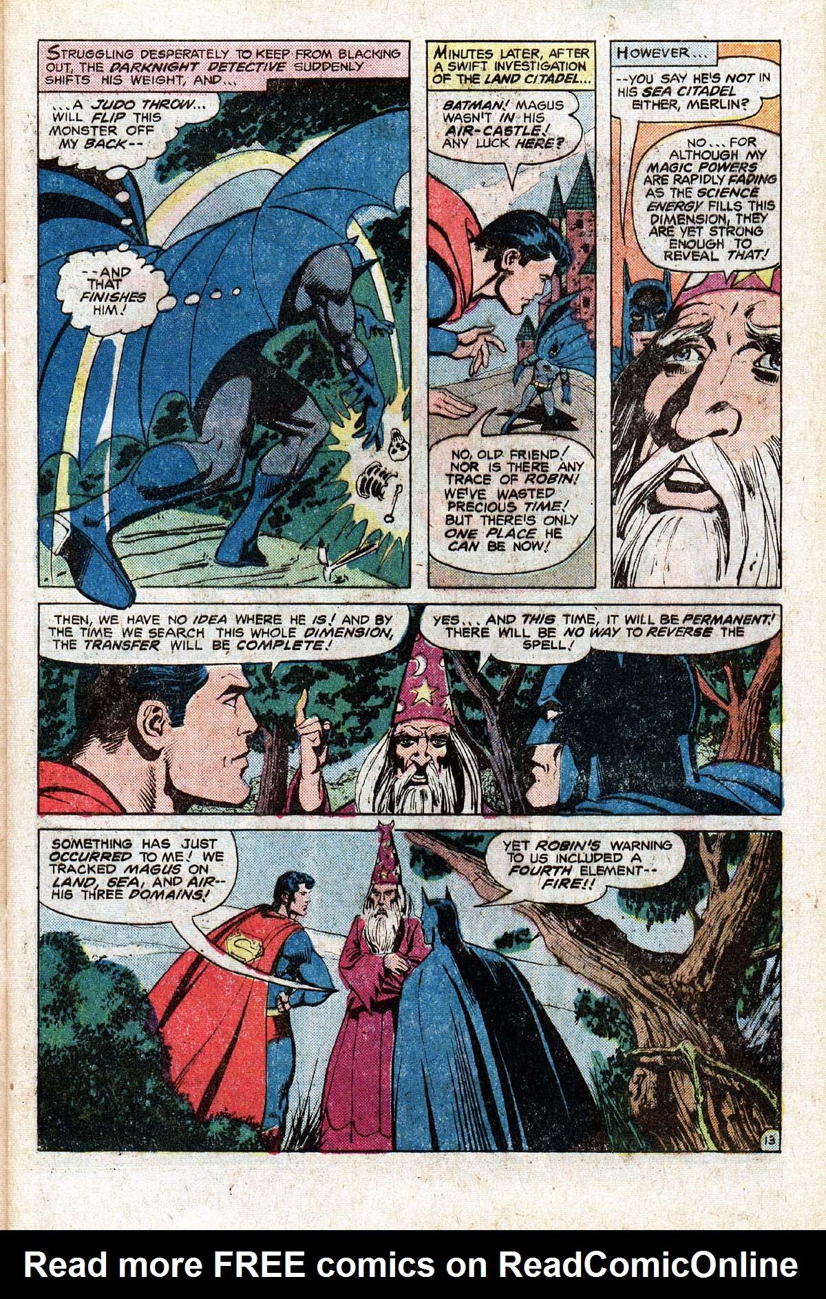 Read online World's Finest Comics comic -  Issue #265 - 17
