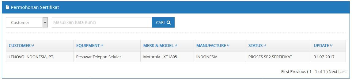 Moto XT1805
