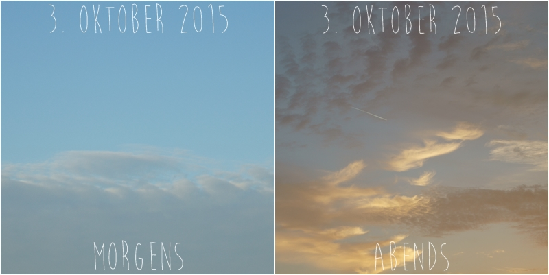 Blog + Fotografie by it's me! - Himmel am 03.10.2015