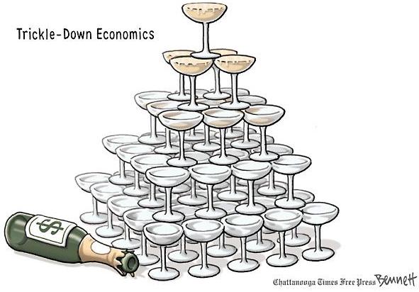 Portal da Língua Inglesa: Cartoon: Trickle-Down Economics