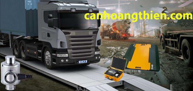 cân xe tải kiểu chìm 40 tấn