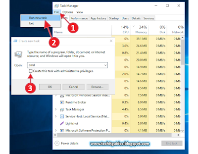 Open Elevated CMD (Admin Privileges) in Windows 10 - Pic 3