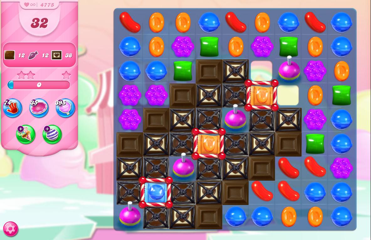 Candy Crush Saga level 4775