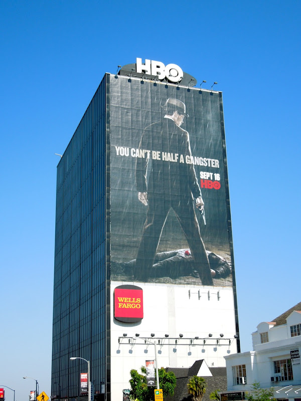 Giant Boardwalk Empire season 3 teaser billboard