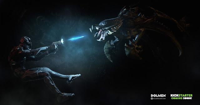 Game brasileiro Dolmen é um 'Dark Souls futurista'