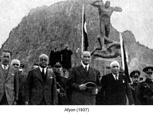 Atatürk Afyon 1937 Fotoğraf