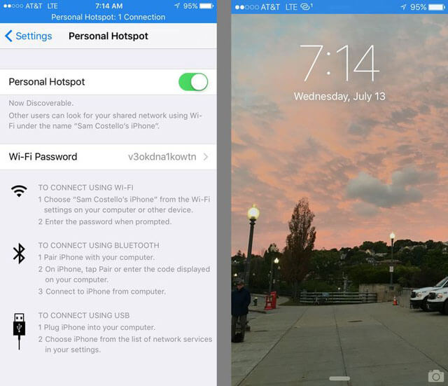 iphone personal hotspot langkah ke 3