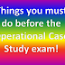 Things you must do before the CIMA Operational Case Study (OCS) exam