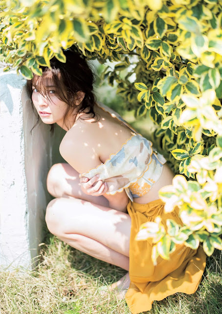 Mami Yamasaki 山崎真実 Weekly Playboy Sep 2016 Pictures 02
