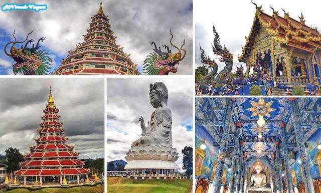 Templo Azul Big Buda Chiang Rai