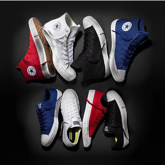 Converse Chuck Taylor II Originals colorways