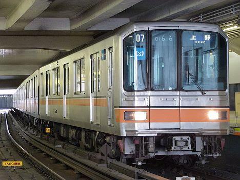 銀座線 上野行き1 01系幕車