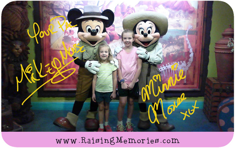 Get Signed Disney Character Photos