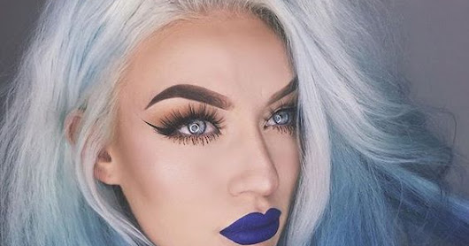 Insanely Gorgeous Blue Lipstick Colors Trending Now