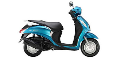 Yamaha Fascino scooter side view image